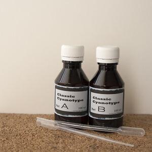 Classic Cyanotype Sensitizer 2x100 ml ( Alternative photography kit )