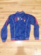 Marca Perú Blue Jacket Lightweight Logo Marca Peru Embroidery Size Medium