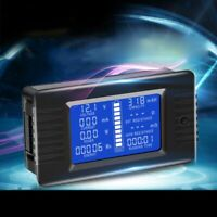 Battery Tester Voltmeter Ammeter Power Voltage Current Capacity Energy Monitor