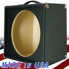 "1X15 Empty Guitar Speaker Cabinet For 15"" JBL E130 or E140 Bronco Black Tolex"