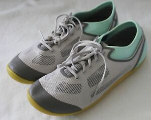 ROCKPORT ~ Mint Green Grey Mesh Lightweight Casual Walk Shoes EU 36 US 5.5 UK 3