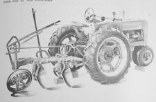 Ih Farmall Hm 150 2 3 Pan Disc Turning Plow Owners Parts Manual H M Super M Md