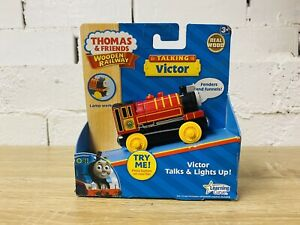 Talking Victor Brand New Thomas The Tank Engine & Friends Wooden Railway Trains