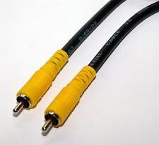 Digital Audio Coaxial RG59 Cable RCA Phono Plug to Plug 0.5m  50cm