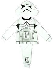 Pyjamas blancs pour garçon de 2 à 16 ans en 100% coton