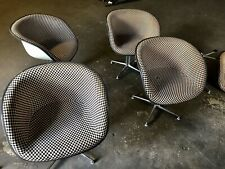 HERMAN MILLER EAMES LAFONDA ARM CHAIR VINTAGE GIRARD CHECKERBOARD RARE!!!
