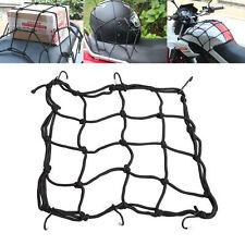 6 Hooks Hold Down Cargo Luggage Helmet Net Mesh for Motorcycle Motorbike XB
