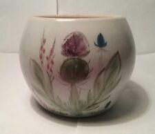 Buchan Pottery Scotland Thistle Pattern Sugar Bowl  Stoneware