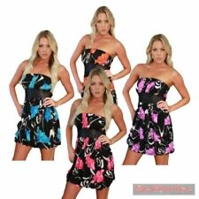 Formal Floral Strapless Dresses for Women