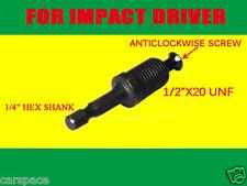 Hex ADAPTER for 1/2 Drill Chuck Hitachi AEG MILWAUKEE GMC METABO Impact Driver