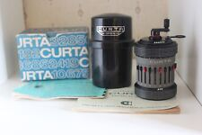 ♕♕♕ RARE BOXED - CURTA Calculator TYPE II #547261 - VERY GOOD Cond - 1968 ♕♕♕