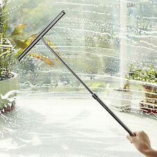 Stainless Glass Window Wiper Cleaner Squeegee Bathroom Mirror Car Blade Brush