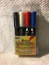 Marvy Bistro Chalk Marker Set C  - 4-Color, Set 480-4C