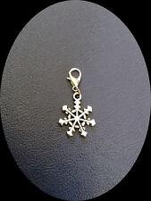 Charm Weihnachten, Schneeflocke, Eiskristall, Snowflake 2