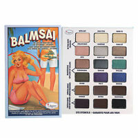 The Balm Balmsai Eye Shadow and Brow Palette with Shaping Stencils Palette
