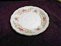 Style House Baroque Saucer Pink Floral