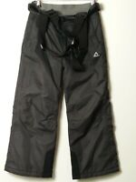CHILDS DARE 2 BE AGE 5-6 YEARS BLACK SNOW SKIING SKI TROUSERS SALOPETTES
