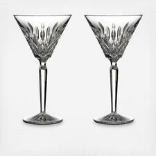 Waterford Crystal Tall Martini Glasses Set Of 2