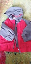 6-9 Months Boy Red Grey Jacket Windproof From Okay