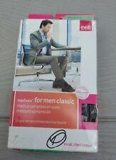 Mediven for Men Classic 20-30 Calf Compression Socks Extra Wide Calf Tall Black