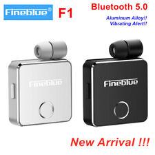Fineblue F1 Wireless Bluetooth BT5.0 Headset Business Earphone Vibrating Clip On