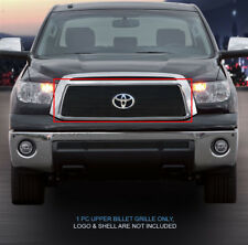 Black Billet Grille Front Upper Grill Fits 2010-2013 Toyota Tundra