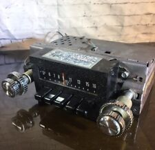 Vintage FORD RADIO 12v NEG GND - Car Truck (ALL KNOBS PUSH BUTTONS) 7 x 7.5 x 3