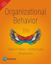 Organizational Behavior (16th Edition) by Stephen P. Robbins and Timothy A. Judg