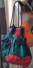 Vintage Fever LONDON Tote Bag with a Floral Design