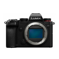 Panasonic LUMIX S5 4K Mirrorless Full-Frame L-Mount Camera Body Only