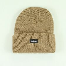 Stussy Basic Watch Beanie Hat Winter Brand New – Brown