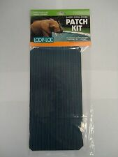 """Loop-Loc Patch Kit For MESH BLUE Swimming Pool Cover 4"""" X 8"""" Press on"""