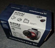 Grundfos Alpha 2 25-60 N 180mm (Niro/Edelstahl) alpha-Reader ready 99271971