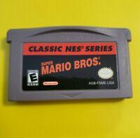 Super Mario Bros CLASSIC NES SERIES (Nintendo Game Boy Advance, 2004) **TESTED