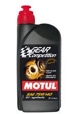 Motul Gear Driveline GEAR COMP 75W140 GL5 1L Holinger FT5000 TRD 75W140