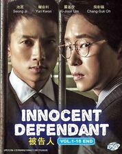Innocent Defendant / The Accused Korean TV Drama Dvd -English Subtitle