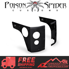 Poison Spyder Corner Armor LED Tail Lights For 07-18 Jeep Wrangler JK 4 Door