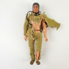 "Vintage Gabriel Tonto The Lone Ranger 10"" Action Figure - Made In Hong Kong"