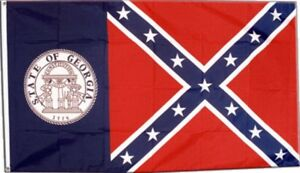 Fahne USA Georgia alt Flagge amerikanische Hissflagge 90x150cm
