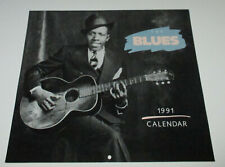 THE BLUES - 1991 CALENDAR : POMEGRANATE / Blues Photos & Birthdates !!