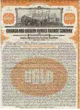 Chicago and Eastern Illinois Railway Company  1921