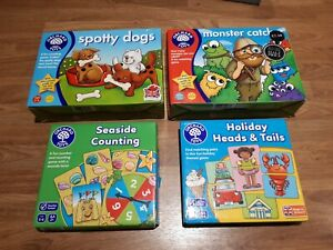 Bundle Of 4 Orchard Toys Games