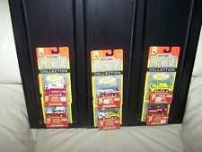 1996- MATCHBOX PREMIERE- FIRE COLLECTION SET -  SERIES 7 - 1 0F 25,000- MIB