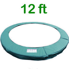 Trampoline Replacement Pad Safety Padding Spring Cover 12ft Green