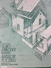 American Football/Song Exploder - 2015 Landland Poster Chicago, IL Lincoln Hall