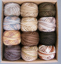Valdani 3 strand Beige and Brown Collection