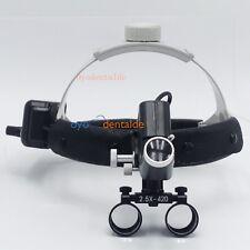 5W 2,5X420 Dental chirurgische lupenbrille Stirnband Lupe mit LED-Scheinwerfer