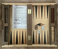 Backgammon Reisespiel Holzkasten