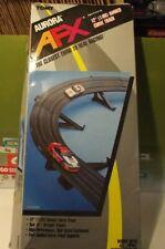 """AURORA  AFX 1989 12"""" (1/8R) BANKED CURVE SET # 8991"""