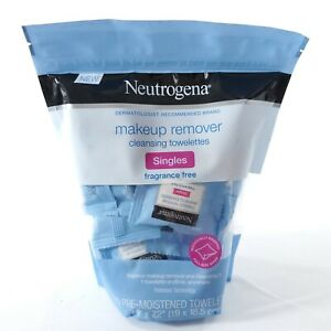 Neutrogena Makeup Remover CLEANSING Fragrance Free Contains 20 Towelettes